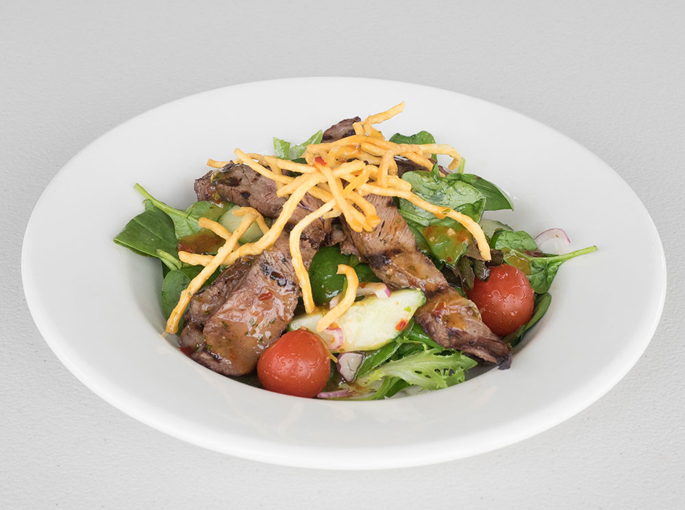 lunch thai beef salad